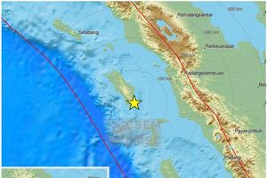 Động đất mạnh 6,2 độ richter rung chuyển Tây Bắc Indonesia