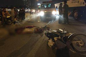Hà Nội: Đi đúng làn đường, nam thanh niên bị xe máy chạy ngược chiều tông tử vong