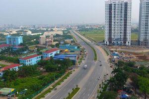 Flycam: Toàn cảnh tuyến đường mới 8 làn xe ở Hà Nội