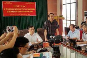 5 cán bộ liên quan gian lận thi cử ở Hà Giang đối mặt mức án nào?