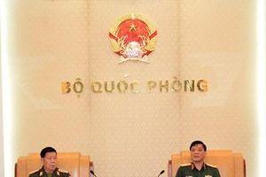 Đoàn Cục Nhà trường QĐND Lào thăm và làm việc tại Việt Nam