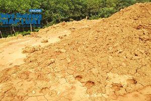 Thanh Hóa: Dự án xử lý khẩn cấp đê tả sông Chu dùng đất thải, bùn ruộng để đắp đê?