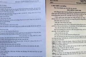 Xôn xao đề thi môn Văn vào lớp 10 tại Quảng Bình giống hệt đề thi học kì