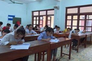 Kỳ thi tuyển sinh vào lớp 10 ở Quảng Bình: Các thí sinh phải thi lại môn Văn