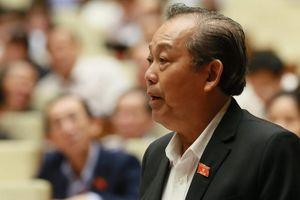 Phó thủ tướng Trương Hòa Bình: 'Xử lý gian lận thi cử không có vùng cấm'