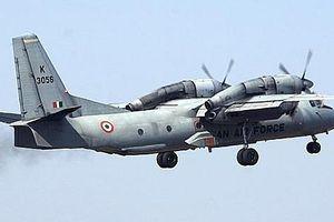 Máy bay quân sự Ấn Độ chở 13 người bị mất tích