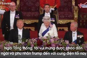 Những con số đặc biệt trong quốc yến Nữ hoàng Anh đãi ông Trump