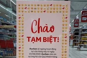 Chuỗi siêu thị Auchan cảm ơn khách hàng Việt Nam, chưa tiết lộ thương vụ bán lại