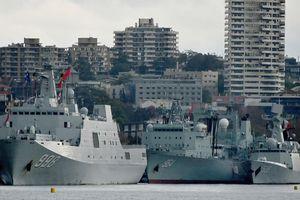 Thủ tướng Australia trấn an người dân về sự xuất hiện 'bất ngờ' của tàu chiến Trung Quốc