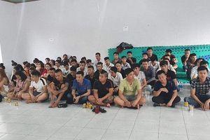 Phát hiện 119 nam nữ nghi sử dụng ma túy tại quán karaoke
