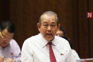 Phó Thủ tướng Trương Hòa Bình: Xử lý gian lận thi cử không làm oan, không có vùng cấm