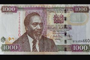 Kenya hủy tờ 1.000 shilling cũ để ngăn dòng tiền bất hợp pháp