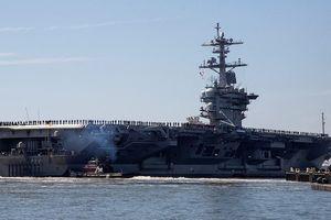Vì sao tàu sân bay Mỹ giữ vị trí, không dám tiến sâu vào eo biển Hormuz?