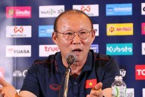 HLV Park Hang-seo phát biểu bất ngờ trước trận đại chiến Thái Lan