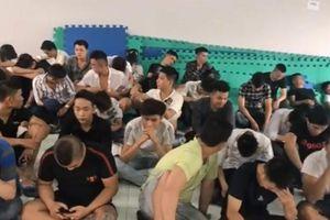 Đột kích quán karaoke, phát hiện 63 người dương tính với ma túy