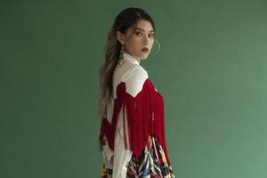 Ngọc Thanh Tâm sành điệu, cá tính trong trang phục sắc màu