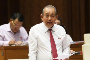 Phó Thủ tướng Trương Hòa Bình nói gì về giải pháp căn cơ chống gian lận thi cử?