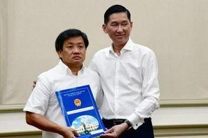 Ông Đoàn Ngọc Hải bất ngờ làm Phó tổng giám đốc Tổng công ty Xây dựng Sài Gòn