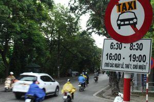 Các tuyến phố cấm xe taxi trên địa bàn thành phố Hà Nội mới nhất năm 2019