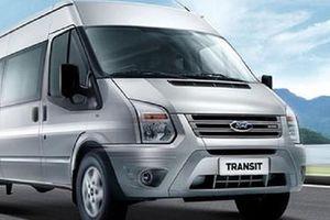 Triệu hồi 1.370 xe Ford Transit tại Việt Nam