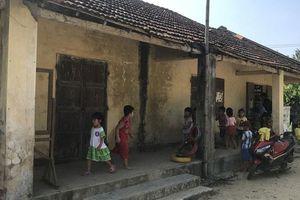 Trường cũ rệu rã chờ sập, Quảng Ngãi bố trí nơi học mới an toàn cho trẻ