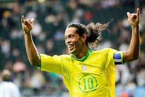 Brazil với Ronaldinho từng đè bẹp Thái Lan 7-0 tại King's Cup