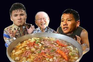 Ảnh chế thầy Park mời người Thái ăn nồi lẩu 'siêu cay khổng lồ'