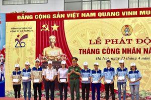Hỗ trợ 14 đoàn viên xây dựng 'Mái ấm Công đoàn, Nghĩa tình đồng đội'