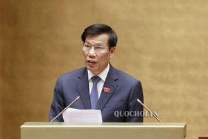 Bộ trưởng Nguyễn Ngọc Thiện trả lời chất vấn ĐBQH về vụ việc ở chùa Ba Vàng