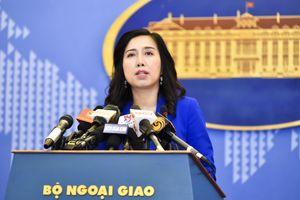 Việt Nam lấy làm tiếc trước phát biểu không phản ánh thực tế khách quan lịch sử