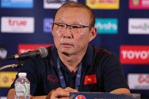 HLV Park Hang Seo: 'Tôi tự hào vì chiến thắng trước Thái Lan'