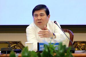 Chủ tịch UBND TP.HCM yêu cầu gỡ vướng và đẩy nhanh tiến độ các dự án