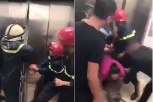 Phá cửa thang máy cao ốc cao cấp trên đường Lê Duẩn, cứu 21 người mắc kẹt