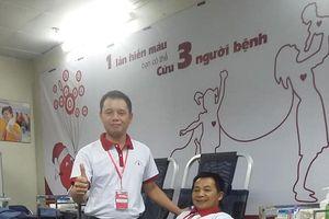 Người mang tâm nguyện hiến máu 100 lần