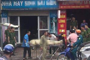 Ông chủ tiệm may tử vong tại cửa hàng với vết cứa trên cổ tay