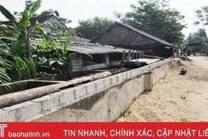 Hệ thống công trình thủy lợi ở Hà Tĩnh (bài 2): Ngang nhiên lấn chiếm, xây công trình kiên cố