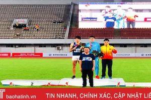 VĐV Hà Tĩnh xuất sắc giành huy chương Giải Điền kinh Asian Grand Prix 2019