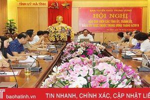 Tập trung tuyên truyền kết quả Hội nghị Trung ương 10 khóa XII