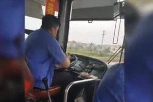 Lái xe buýt vi phạm càng phải xử nghiêm
