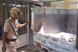 Xe tải chở heo chết từ vùng dịch tả lợn châu Phi ra Đà Nẵng tiêu thụ