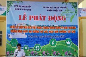 Thanh Hóa: Phát động Tuần lễ Biển và Hải đảo Việt Nam, tháng hành động vì môi trường năm 2019