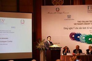 Hợp tác doanh nghiệp Việt - Ý trong nền kinh tế tuần hoàn