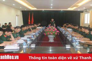 Bộ Tư lệnh Quân khu 4: Kiểm tra 6 tháng đầu năm tại Thanh Hóa