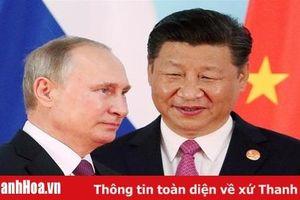 Chủ tịch Trung Quốc thăm Nga trong bối cảnh căng thẳng với Mỹ