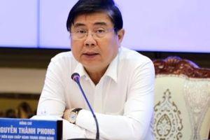 Chủ tịch UBND TP HCM yêu cầu đẩy nhanh tiến độ các dự án