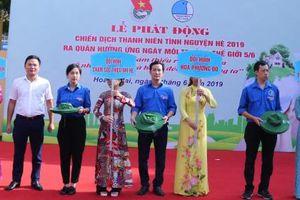 Tuổi trẻ Hoàng Mai tình nguyện vì cuộc sống cộng đồng