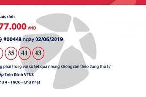 Kết quả xổ số Vietlott - Mega 6/45 ngày 5/6/2019: Đã tìm ra người trúng gần 30 tỉ đồng?