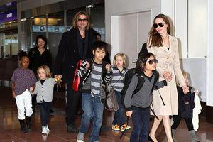 Brad Pitt cắt giảm lịch làm việc để đến thăm các con sau khi ly hôn