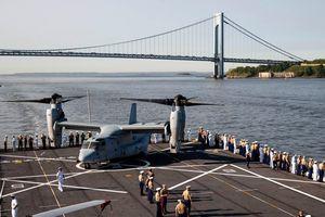 Những chiến hạm đáng gờm trong Tuần lễ Hạm đội New York