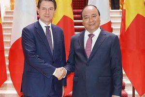 Phấn đấu đưa kim ngạch thương mại Việt - Ý lên 10 tỉ USD